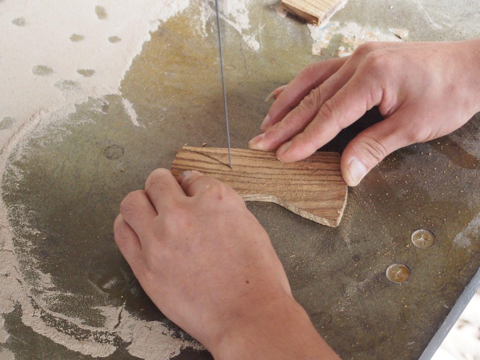 fabrication noeuds papillon Sisswy bois wavre brabant mode tendance mariage