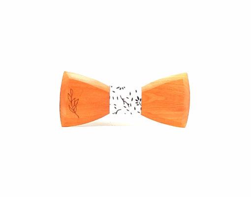 ambae noeud papillon femmes bois sapotillier rameaux